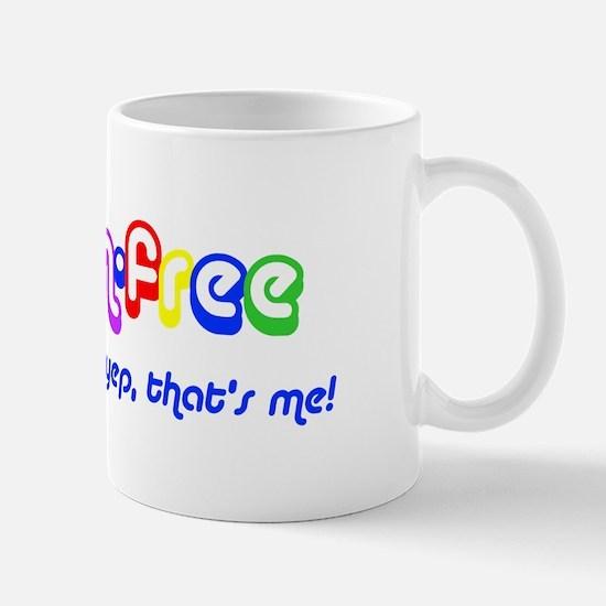gluten-free, yep that's me! Mug