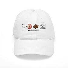 Your Brain Baseball Baseball Cap