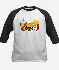 Fast Food Kids Baseball Jersey