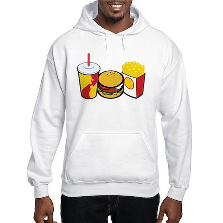 Fast Food Hooded Sweatshirt