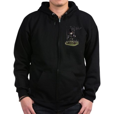 The Mad Hatter Zip Hoodie (dark)