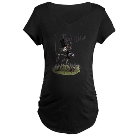 The Mad Hatter Maternity Dark T-Shirt