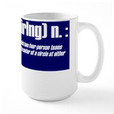 """Curling defined"" Mug"