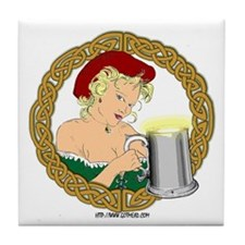 MeadWench Tile Coaster