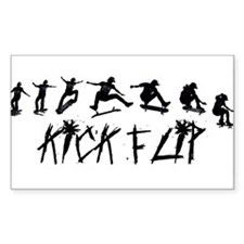 KICKFLIP SEQUENCE Rectangle Decal