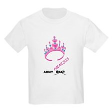 Army Brat/Princess Kids T-Shirt