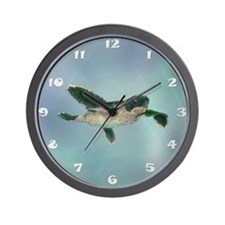 Baby Sea Turtle Wall Clock