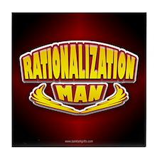 Rationalization Man... Tile Coaster