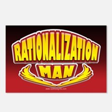 Rationalization Man... Postcards (Package of 8)