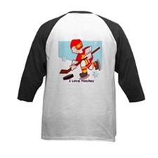 I Love Hockey Tee