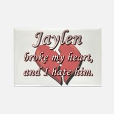 Jaylen broke my heart and I hate him Rectangle Mag