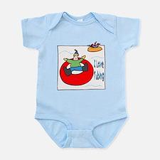 I Love Tubing Infant Bodysuit