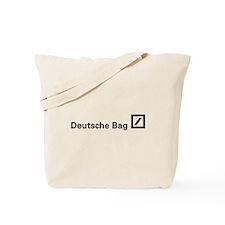 Deutsche Bag (Black) Tote Bag