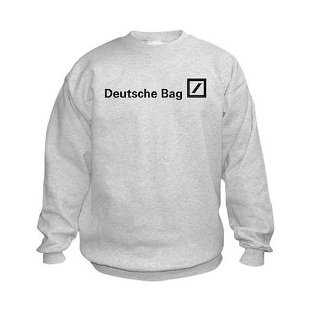 Deutsche Bag (Black) Kids Sweatshirt