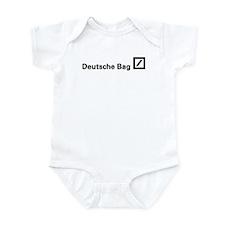 Deutsche Bag (Black) Infant Bodysuit