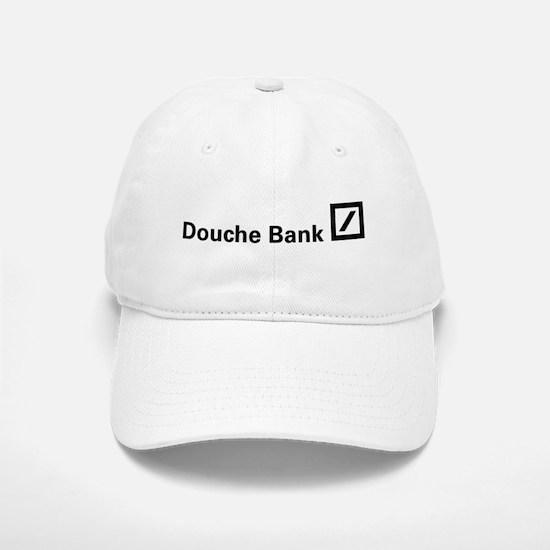 Douche Bank (Black) Baseball Baseball Cap