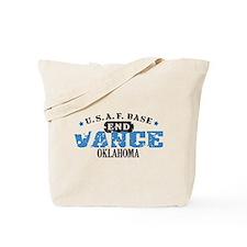 Vance Air Force Base Tote Bag