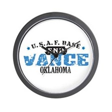Vance Air Force Base Wall Clock