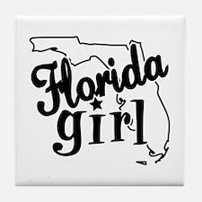 Florida Girl Tile Coaster