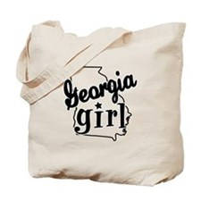 Georgia Girl Tote Bag