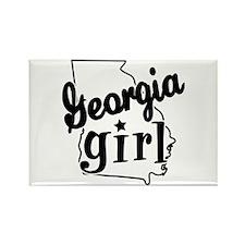 Georgia Girl Rectangle Magnet (100 pack)
