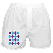 Argyle Boxer Shorts