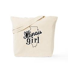 Illinois Girl Tote Bag