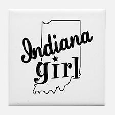 Indiana Girl Tile Coaster