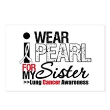 Lung Cancer (Sister) Postcards (Package of 8)