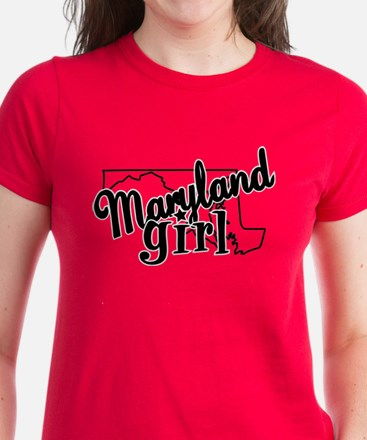 Maryland Girl Women's Dark T-Shirt
