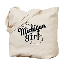 Michigan Girl Tote Bag