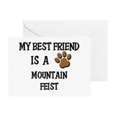 My best friend is a MOUNTAIN FEIST Greeting Card