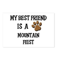 My best friend is a MOUNTAIN FEIST Postcards (Pack