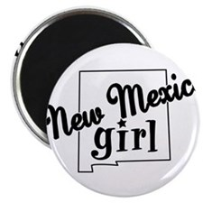 "New Mexico Girl 2.25"" Magnet (100 pack)"