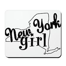 New York Girl Mousepad