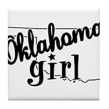 Oklahoma Girl Tile Coaster