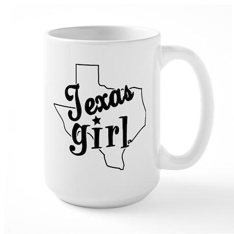 Texas Girl Large Mug