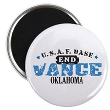 Vance Air Force Base Magnet