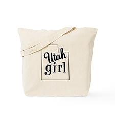 Utah Girl Tote Bag
