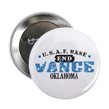 "Vance Air Force Base 2.25"" Button (10 pack)"