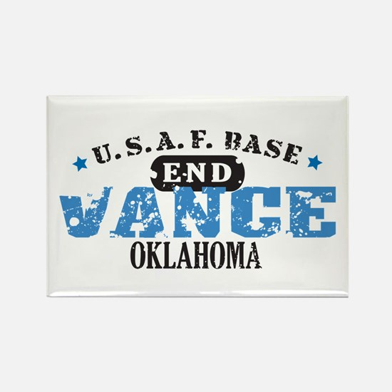 Vance Air Force Base Rectangle Magnet