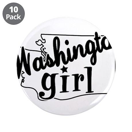 "Washington Girl 3.5"" Button (10 pack)"