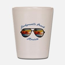 Florida - Jacksonville Beach Shot Glass