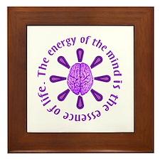 Energy of the Mind Framed Tile