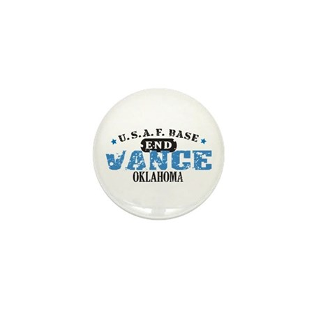 Vance Air Force Base Mini Button (100 pack)