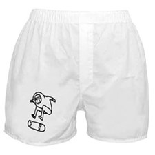Skater Z (Black) Boxer Shorts