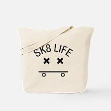 Sk8 Life (Black) Tote Bag