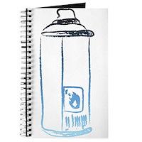 Graffiti Spray Can Journal