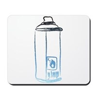 Graffiti Spray Can Mousepad