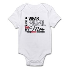 Lung Cancer (Mom) Infant Bodysuit